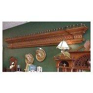 Victorian Architectural Oak Pieces - Pair