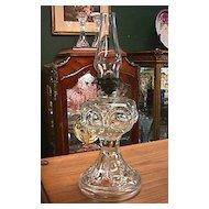 Antique Miniature Oil Lamp