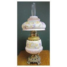 Victorian Oil Lamp Convert to Electric - Cherubs !!!