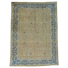 Antique Persian Tabriz Exc Cond Hand Knotted Oriental Rug Sh26178