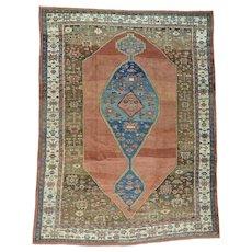 Handmade Original Antique Persian Bakshaish Mint Cond Rug