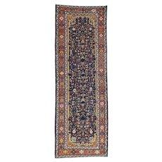 Handmade Antique Persian Bakhtiari Gallery Size Exc Cond Rug