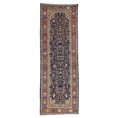 Handmade Antique Persian Bakhtiari Gallery Size Exc Cond Rug