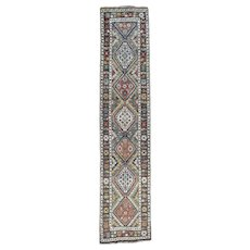 Hand Knotted Antique North West Persian XL Runner Exc Cond Rug