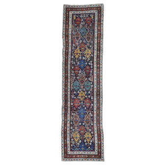 Full Pile Antique Mint Condition Northwest Persian Wide Runner