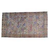 Handmade Gallery Size Persian Kerman Oriental Rug Sh25830