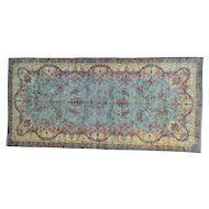 "9'9""x20'9"" Antique Persian Kerman Mint Cond Gallery Size Handmade Rug"
