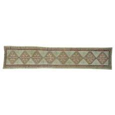 XL Runner Antique Persian Serab Mint Cond Pure Wool Rug Sh26424