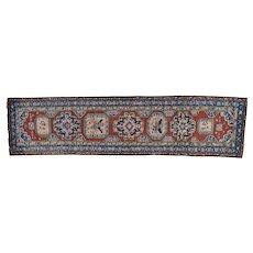 Antique North West Persian Even Wear Wide Runner Oriental Rug Sh27175