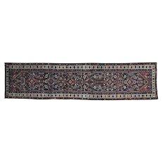 Antique Persian Hamadan Exc Cond Runner Oriental Rug Sh27178