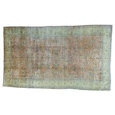 Oversize Full Pile Antique Persian Sarouk Mint Cond Rug Sh27308