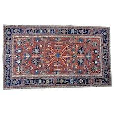 Antique Persian Serapi Gallery Size Mint Cond Handmade Rug Sh28158