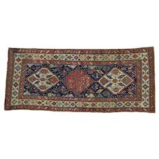 Antique Northwest Persian Wide Runner Handmade Exc Cond Rug Sh28236