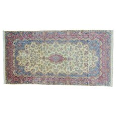 Antique Persian Kerman Gallery Size Good Cond Oriental Rug Sh28701