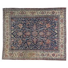 Antique Persian Heriz All Over Design Even Wear Oriental Rug Sh32138