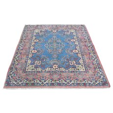Antique Persian Kerman Full Pile Mint Cond Hand-Knotted Rug Sh32158