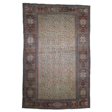 """12'x18'3"""" Antique Persian Mahal Exc Cond Pure Wool Hand-Knotted Oversized Rug"""
