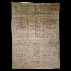 "8'7""x11'8"" Old Turkish Sivas Good Condition Hand-Knotted Oriental Rug"
