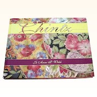 Chintz Ceramics with Values by Jo Anne Welsh Signed Copy