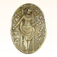 Bronze Naughty Dish - Artist Signed - Eve's Descendent