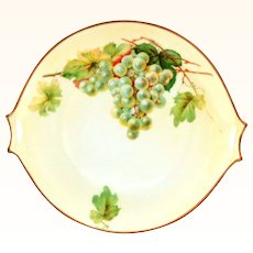 Handpainted Hand Painted Hutschenreuther Grapes Plate Server