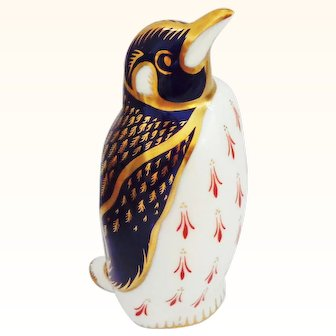 Royal Crown Derby Penguin Figure Paperweight