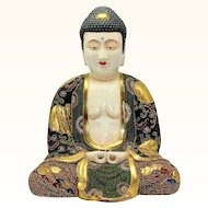 Outstanding Satsuma Buddha 14 Inches