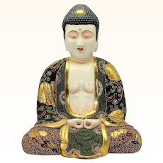 Outstanding Satsuma Buddha 14 Inches