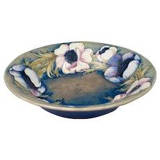 William Moorcroft 1928-1949 Large Anemone Bowl