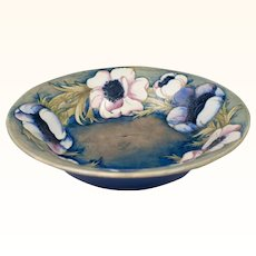 William Moorcroft 1928-1949 Large Anemone Bowl