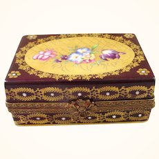 Limoges France Hand Painted Box