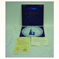 Royal Delft De Porceleyne Fles 1971 LE Mother's Day Plate