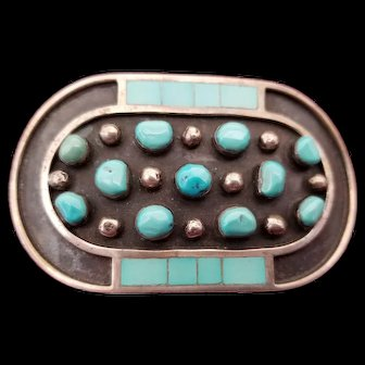 Jobeth Mayes Maize Zuni Belt Buckle
