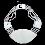 Patricia Von Musulin Vintage Sterling Necklace