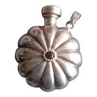 Ladies' Sterling Silver Perfume Flask Pendant