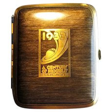 1933 Chicago World's Fair Cigarette Case