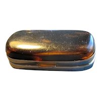 Spanish Celluloid Snuff Box