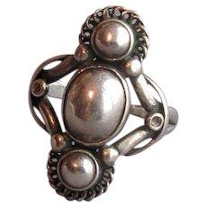Vintage Sterling Georg Jensen Ring