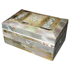 Mother-of-Pearl Trinket Box