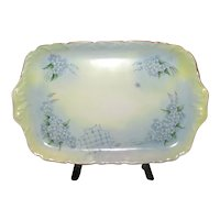 Hand-Painted Limoges Ceramic Vanity Tray