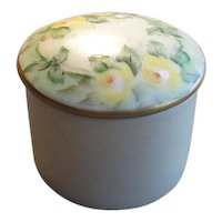 Small Hand-Painted China Trinket Box