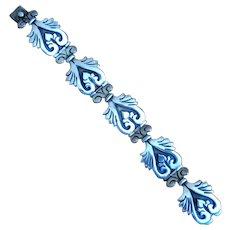 Mexican Sterling Maricela Link Bracelet