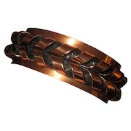 Renoir Burnished Copper Cuff Bracelet