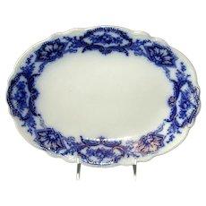 "Small Flow Blue ""Alaska"" Platter"