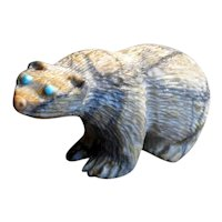 Native American Zuni Bear Fetish