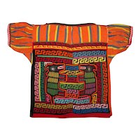 Kuna Indian Shirt with Two Molas