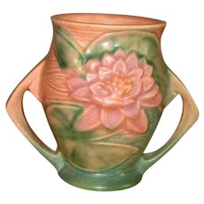 "Small Roseville Art Pottery ""Water Lily"" Vase"