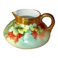 Hand-Painted Bavarian Lemonade Pitcher