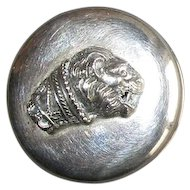 Sterling Pill-Box with Lion