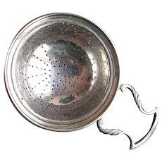 Vintage Sterling Silver Tea Strainer